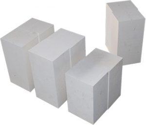 Corundum bricks manufacturing