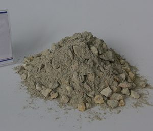 Thermal shock resistant castable