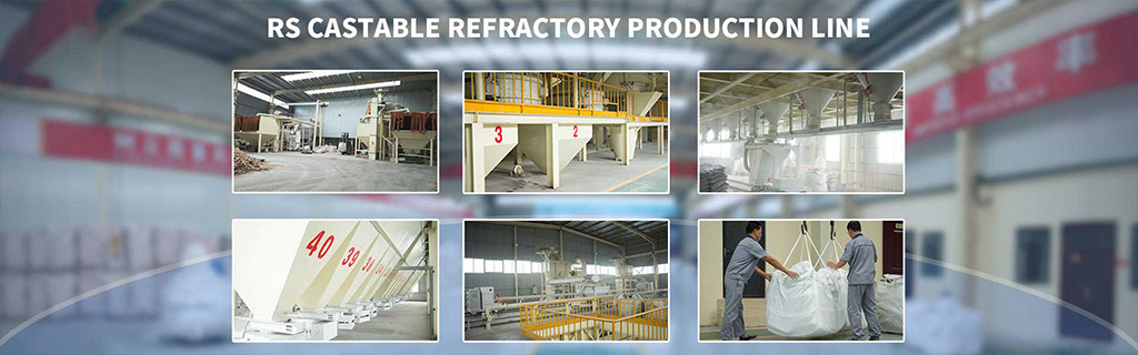 Rongsheng Monolithic Refracory Materials Production Line